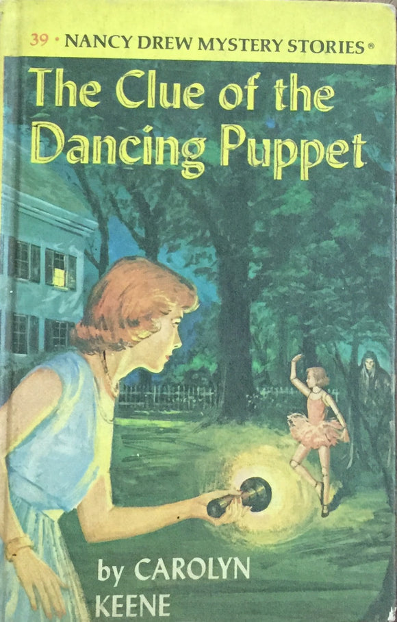 Nancy Drew - The Clue of the Dancing Puppet by Carolyn Keene (Hard Bound)