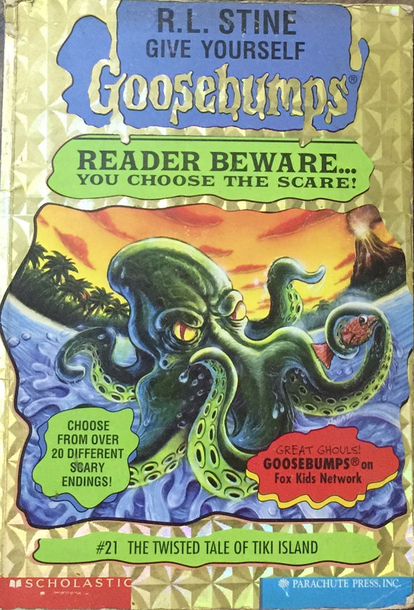 Reader Beware You Choose The Scare - Goosebumps by R L Stine