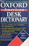 Oxford American Desk Dictonary