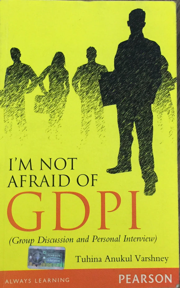 I am not afraid of GDPI by Tuhina Anukul Varshney