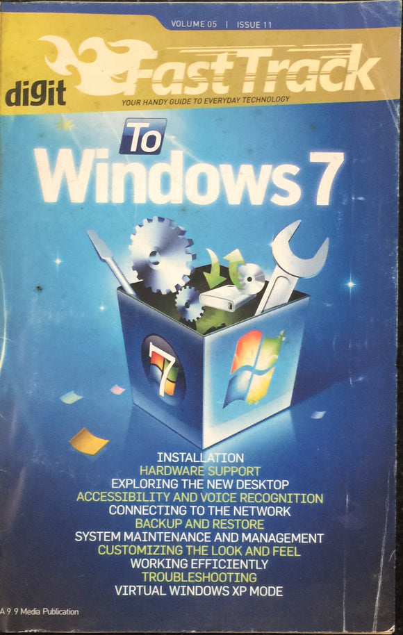 Digit Fast Track to Windows 7 Volume 5