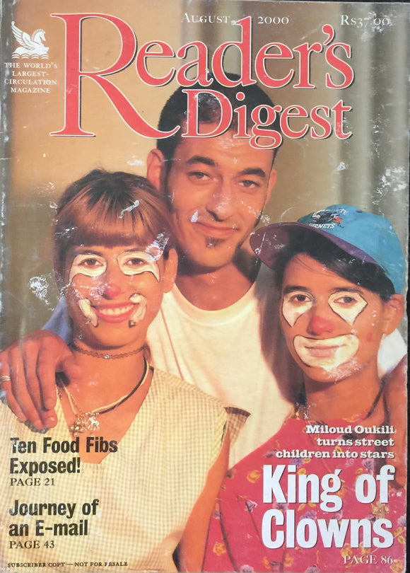 Readers Digest Aug 2000