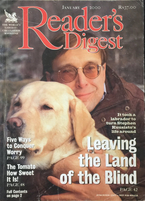 Readers Digest Jan 2000