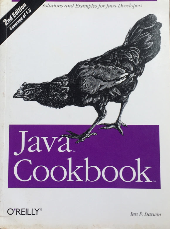 Java Cookbook by Ian F Darwin