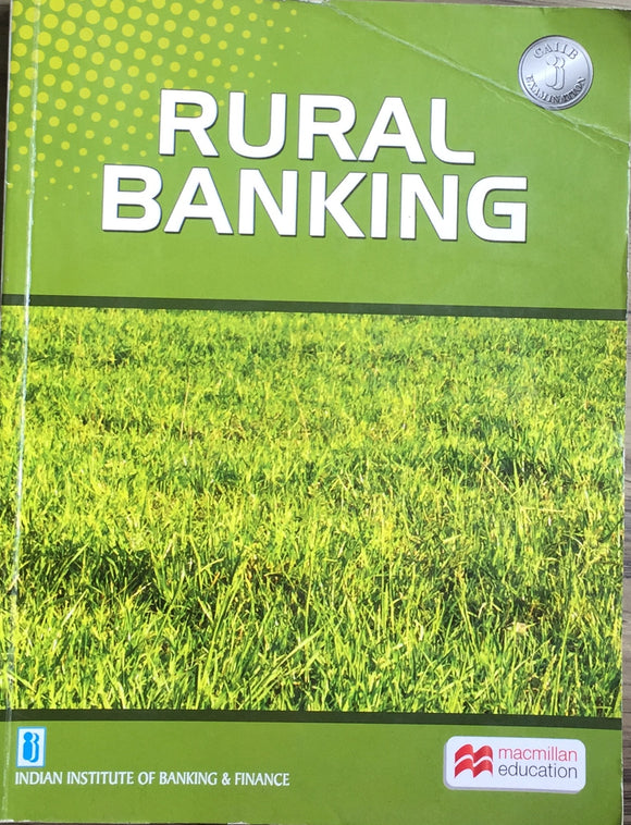 Rural Banking by S C Bandopadhyaya, V N Kulkarni (Indian Institute of Banking and Finance)