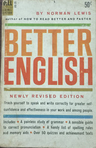 Better English by Norman Lewis