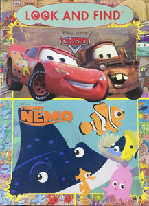 Disney Pixar Cars Look and Find / Disney Pixar Findind Nemo