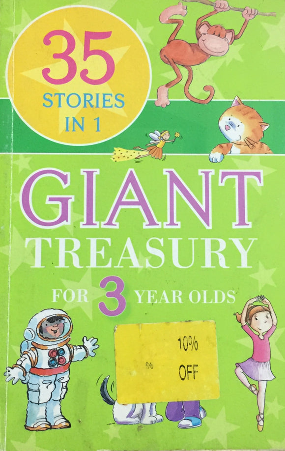 35 Stories in 1 Giant Treasury for 3 Year Old