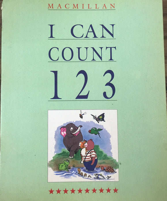 I Can Count 1 2 3 by Macmillan