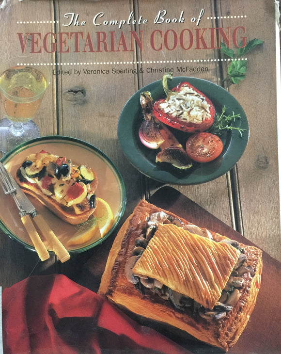 The Complete Book of Vegetarian Cooking by Veronica Sperling