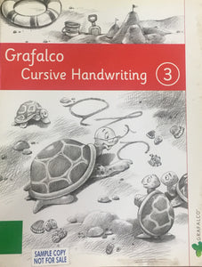 Grafalco Cursive Handwriting - 3