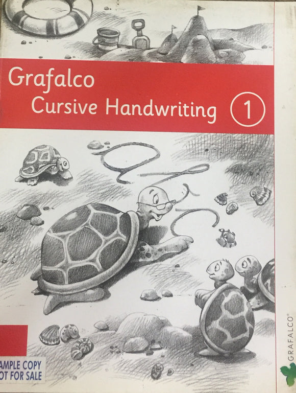 Grafalco Cursive Handwriting - 1