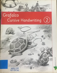 Grafalco Cursive Handwriting - 2