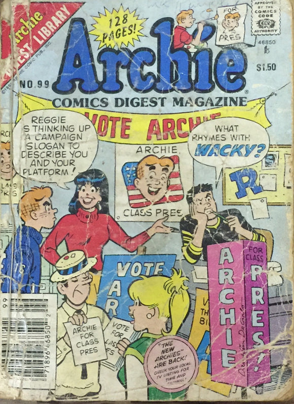 Archies Digest No 99