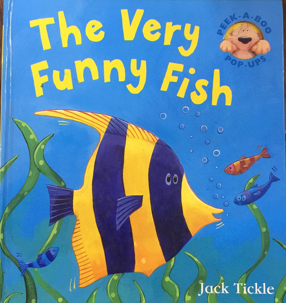 The Very Funny Fish by Jack Tickle Pop Up Book (Hard Bound)