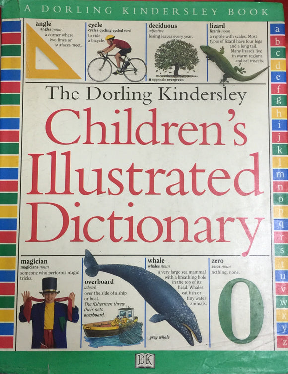 The Dorling Kindersley Childrens Illustrated Dictionary (Hard Cover - Large)