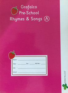 Grafalco Pre School Rhymes & Songs A