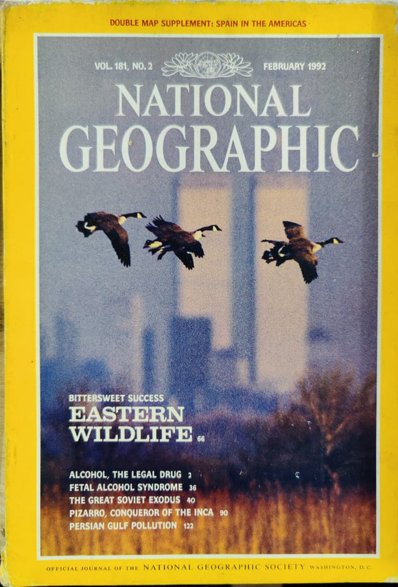 National Geographic February 1992