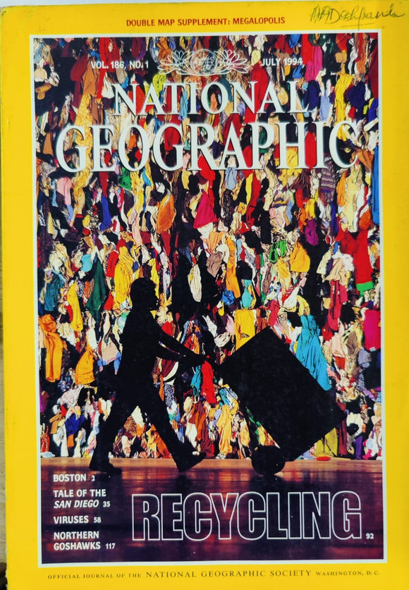National Geographic July 1994