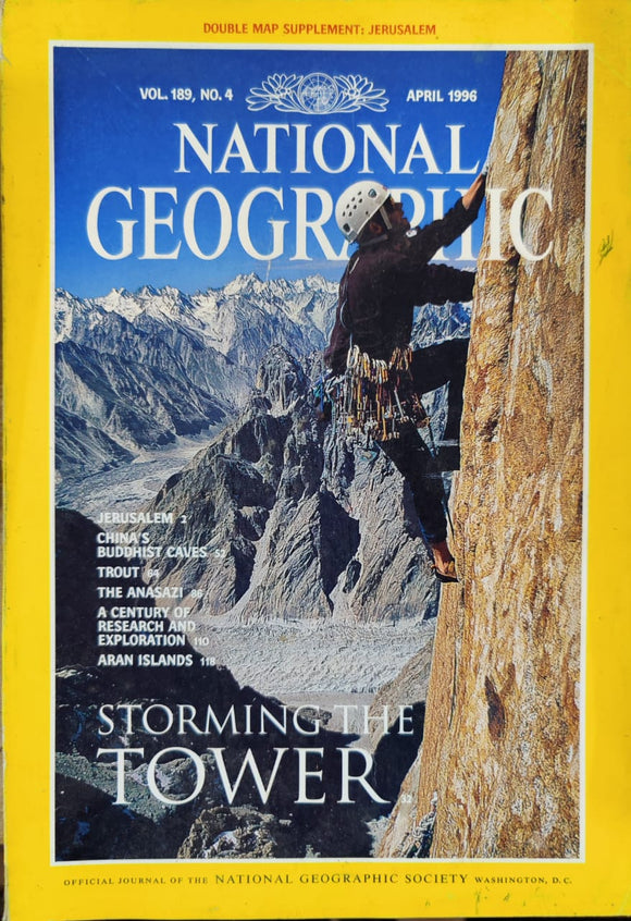 National Geographic April 1996