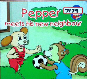 Pepper: Meets his new neighbour