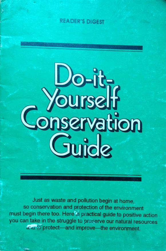 Do it yourself conservation guide