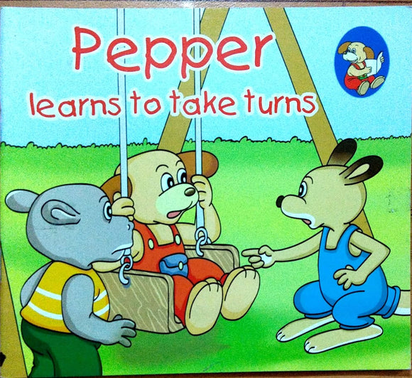 Pepper: Learns to take turns