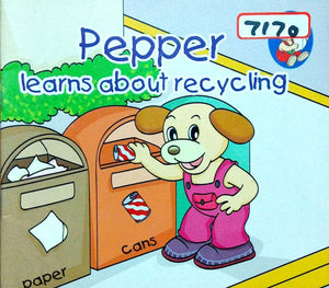 Pepper: Learns about recycling