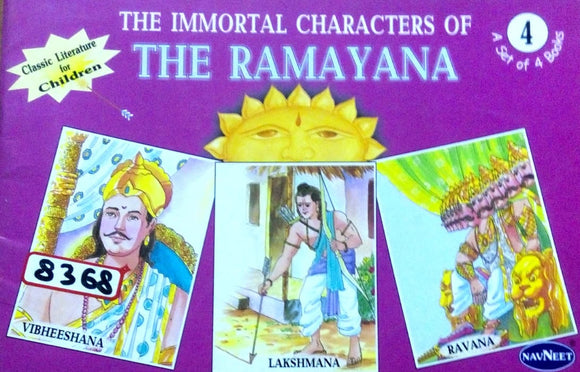 The immortal characters of The Ramayana 4