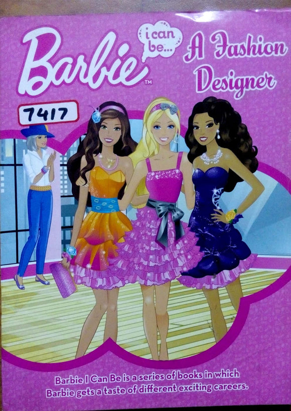 Barbie a fashion designer