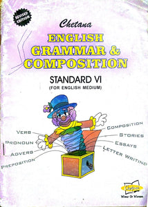 English grammer & composition for english standard VI