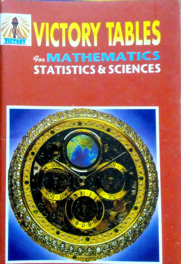Victory tables for mathematics statistics & sciences