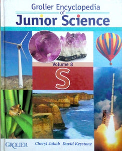 Grolier encyclopedia of junior science volume 8 S