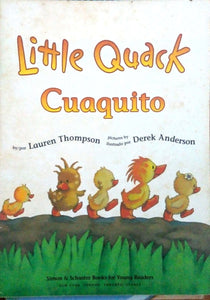 Little quack cuaquito by Lauren Thompson