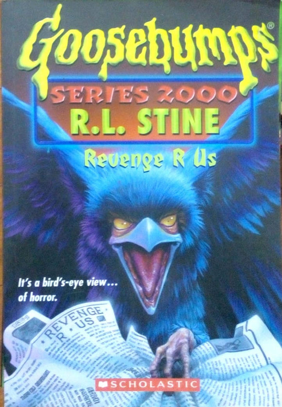 Goosebumps series zooo: Revenge r us by R.L.Stine