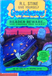 Goosebumps: #8 The cruse of the creeping coffin by R.L.Stine
