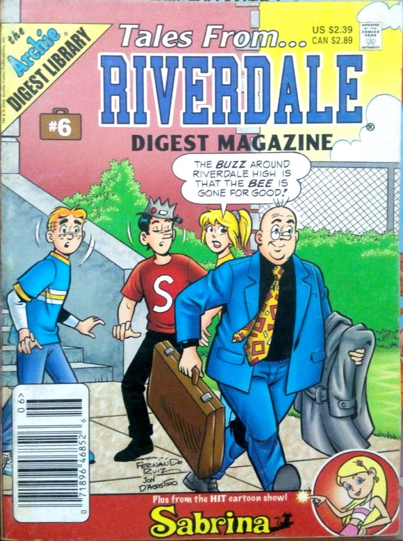 Tales from... Riverdale digest magazine # 6
