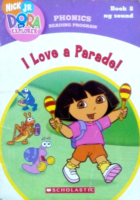 Phonics reading program: I love a parade! by Quinlan B. Lee Book 8 ng sound
