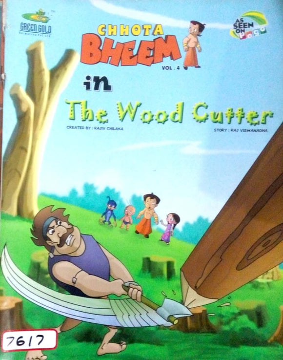 Chhota Bheem Vol. 04 in The wood cutter by Rajiv Chilka