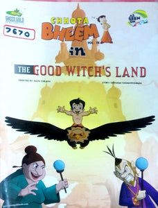 Chhota Bheem Vol. 74 in The good witch's land by Rajiv Chilka