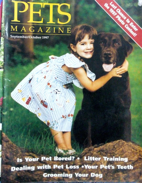 Pets magazine Sept Oct 1997