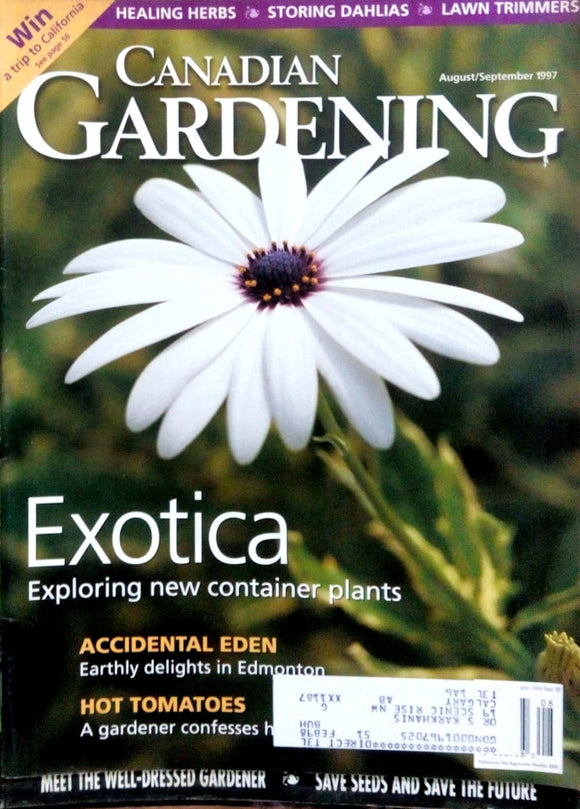 Canadian gardening Aug Sept 1997