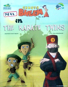 Chhota Bheem in The karate twins by Nidhi Anand (Vol. 44)