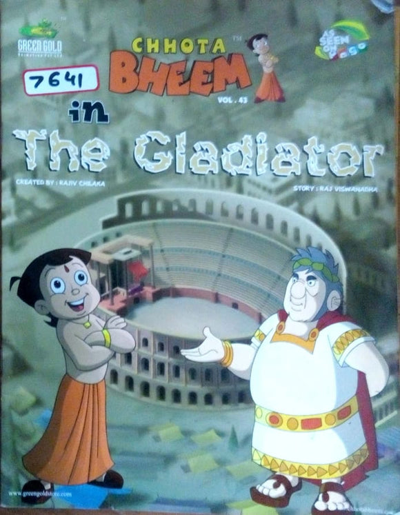 Chhota Bheem in The cladiator by Nidhi Anand (Vol. 43)