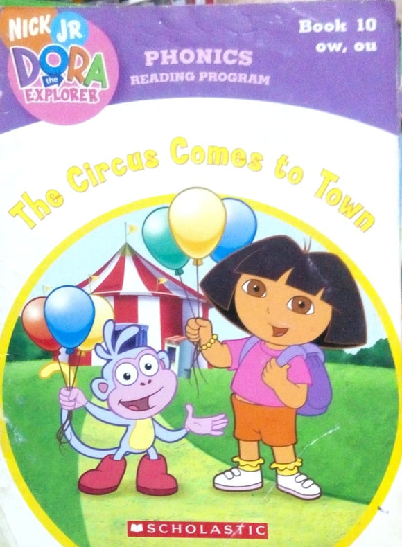 Phonics reading program: The circus comes to town Book 10