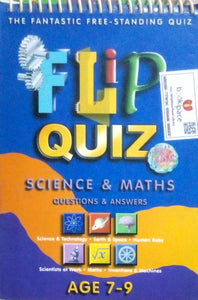 Flip quiz science & maths Ages 7 - 9