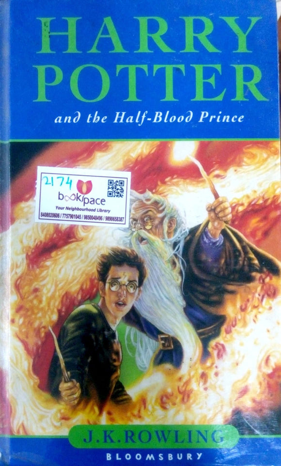Harry Potter and the Half-Blood prince by J.K.Rowling