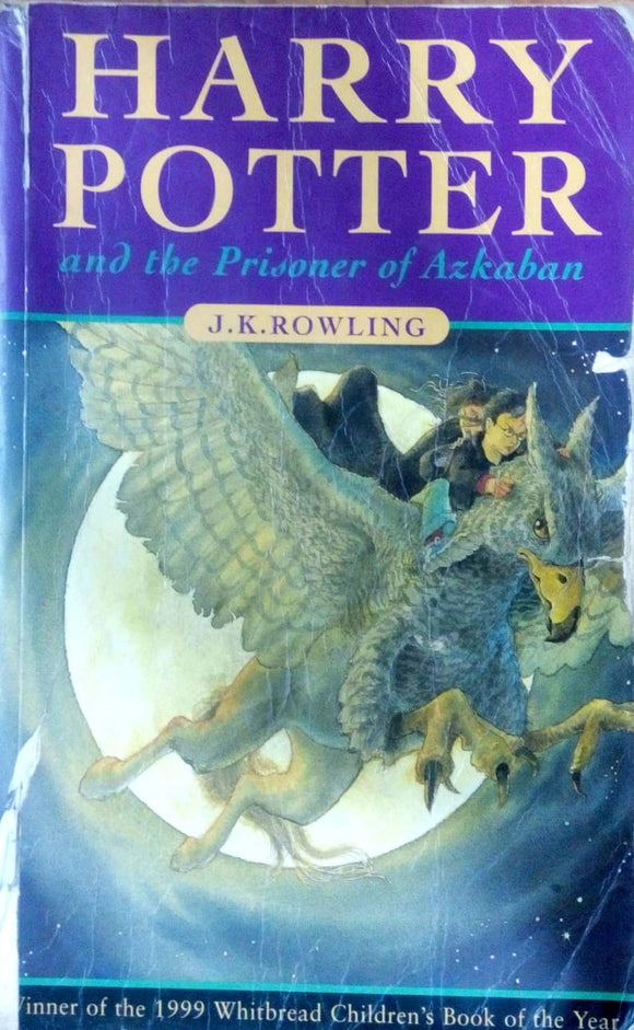 Harry Potter and the prisoner of azkaban by J.K.Rowling