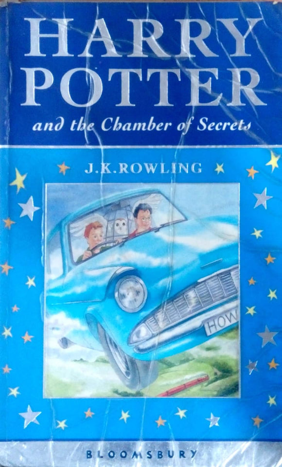 Harry Potter and the chamber of secrets by J.K.Rowling