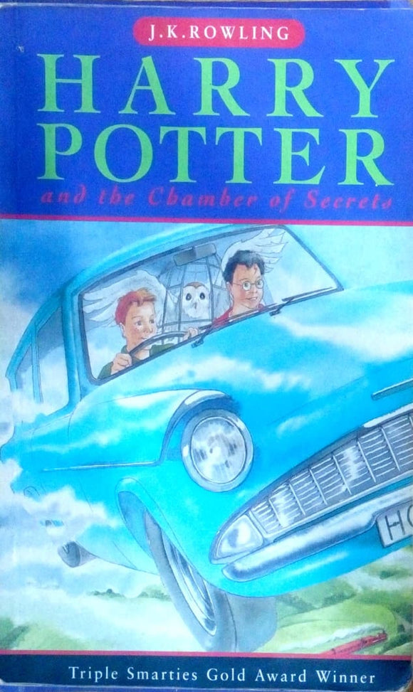 Harry Potter and the chamber secrets by J.K.Rowling